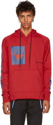 Abasi Rosborough Red Limited Edition Crimson Arc Hoodie