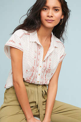 Maeve Riley Embroidered Tunic