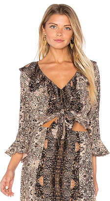 Cleobella Inca Top in Taupe $139 thestylecure.com