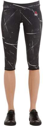 Reebok Crossfit Cropped Microfiber Leggings