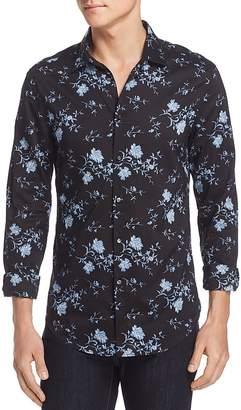 John Varvatos Floral Button-Down Shirt - 100% Exclusive