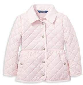 Ralph Lauren Little Girl's& Girl's Quilted Jacket
