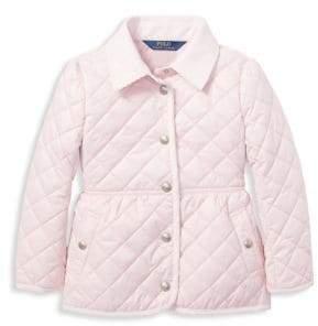 Ralph Lauren Little Girl's& Girl's Quilted Jacket