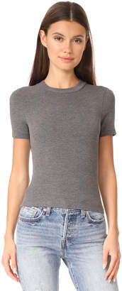 GETTING BACK TO SQUARE ONE The Short Sleeve Crop Crew Tee $98 thestylecure.com