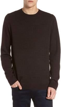 Calibrate Grid Crewneck Sweater