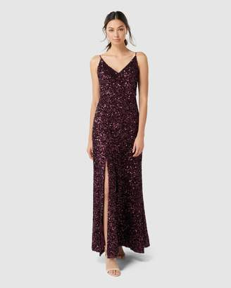 Forever New Giselle Sequin Gown