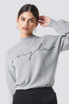 NA-KD Na Kd Single Sweatshirt Grey Melange