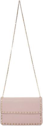 Valentino Pink Rockstud Envelope Bag $1,145 thestylecure.com