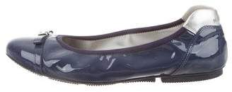 Hogan Patent Leather Ballet Flats