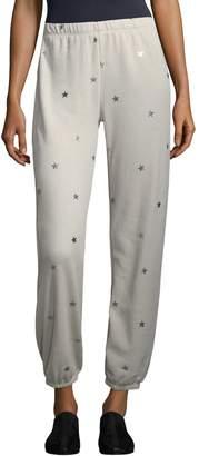Wildfox Couture Women's Star-Print Sweatpants