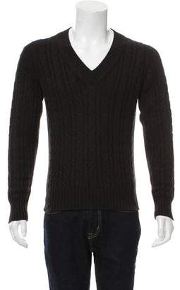 Tom Ford Cashmere-Blend Cable Knit Sweater