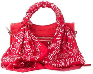 Balenciaga mini City scarf bag