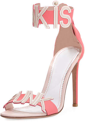 Valentino Pink is Punk d'Orsay Sandal
