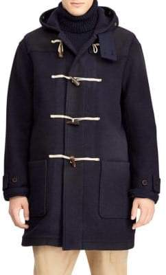Polo Ralph Lauren Wool Toggle Coat