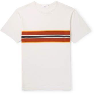 Mr P. Striped Garment-Dyed Cotton-Jersey T-Shirt