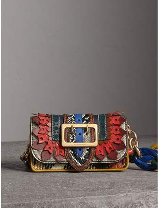 Burberry The Patchwork in Exotics and Punched Leather