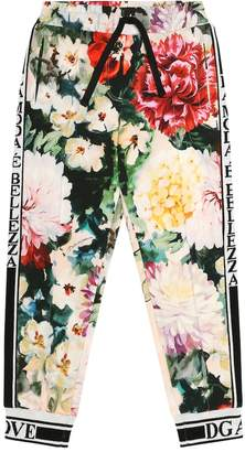 Dolce & Gabbana Floral stretch cotton trackpants