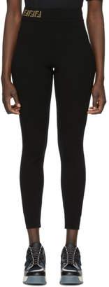 Fendi Black Forever Leggings