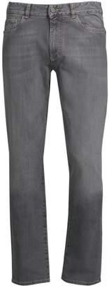 Canali Stretch Cotton Slim-Fit Jeans