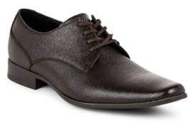 Calvin Klein Brodie Embossed Leather Oxfords