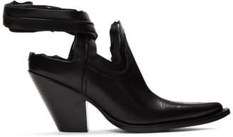 Maison Margiela Black Santiago Decortique Boots