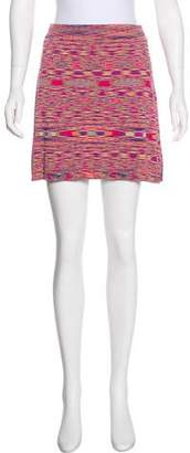 House of Holland Knit Mini Skirt