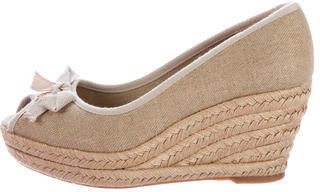 Tory Burch Tory Burch Jackie Espadrille Wedges