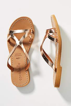 Cocobelle Strappy Slide Sandals