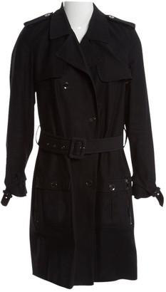 Luella Black Cotton Trench coats