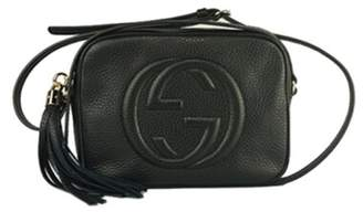 Gucci lady Soho Disco texture leather shoulder bag