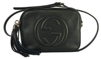 Gucci lady Soho Disco texture leather shoulder bag