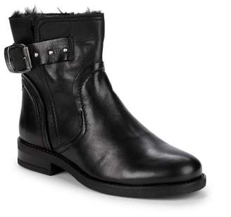 Pajar Recall Faux Fur Lined Moto Boots