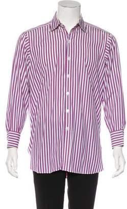 Turnbull & Asser Striped Woven Shirt