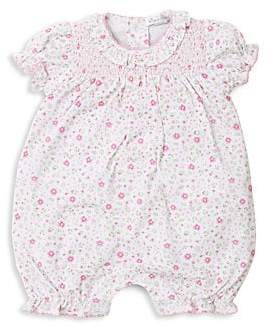Kissy Kissy Baby Girl's Printed Bloomer Romper