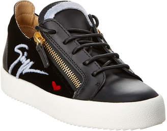 Giuseppe Zanotti Gail Signature Leather Sneaker
