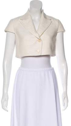 Akris Punto Silk Cropped Jacket