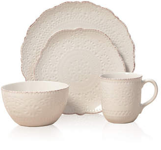 Pfaltzgraff Chateau Everyday 16 Piece Dinnerware Set, Service for 4