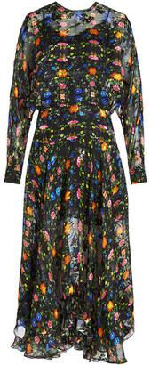 Preen by Thornton Bregazzi Bergamot Embroidered Dress with Silk