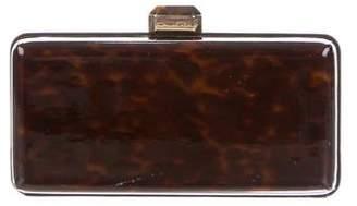 Oscar de la Renta Patent Leather Box Clutch