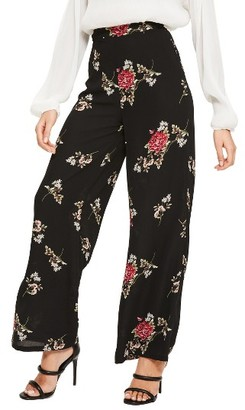 Women's Missguided Wide Leg Floral Print Pants $72 thestylecure.com