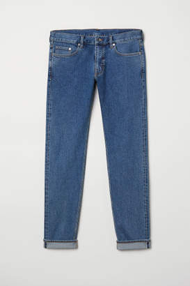 H&M Slim Selvedge Jeans - Blue