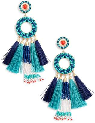 Rebecca Minkoff Dream Catcher Statement Earrings