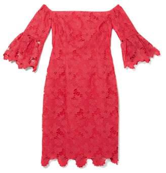 Vince Camuto Lace Off-the-shoulder Dress