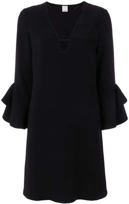 Pinko trumpet sleeve mini dress
