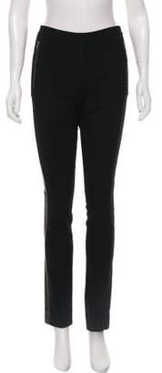 Diane von Furstenberg Leah Leather Skinny Pants