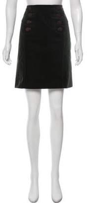 Gucci A-Line Knee-Length Skirt