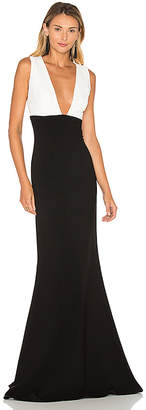 Jill Stuart Colorblock Gown