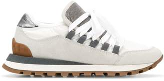 Brunello Cucinelli bead-embellished sneakers