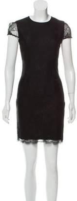L'Agence Lace Mini Dress