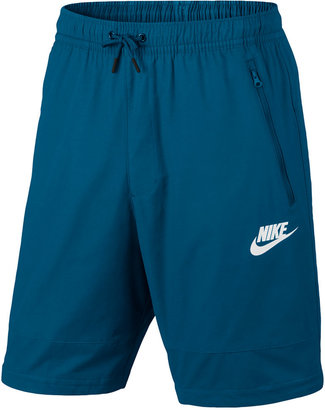 Nike Men's Sportswear Advance 15 Woven Shorts $60 thestylecure.com